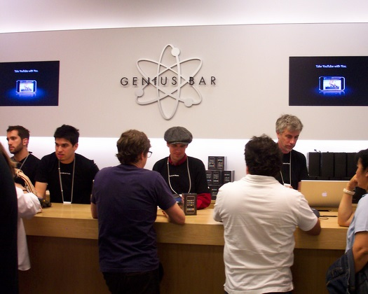 Selling-at-the-genius-bar
